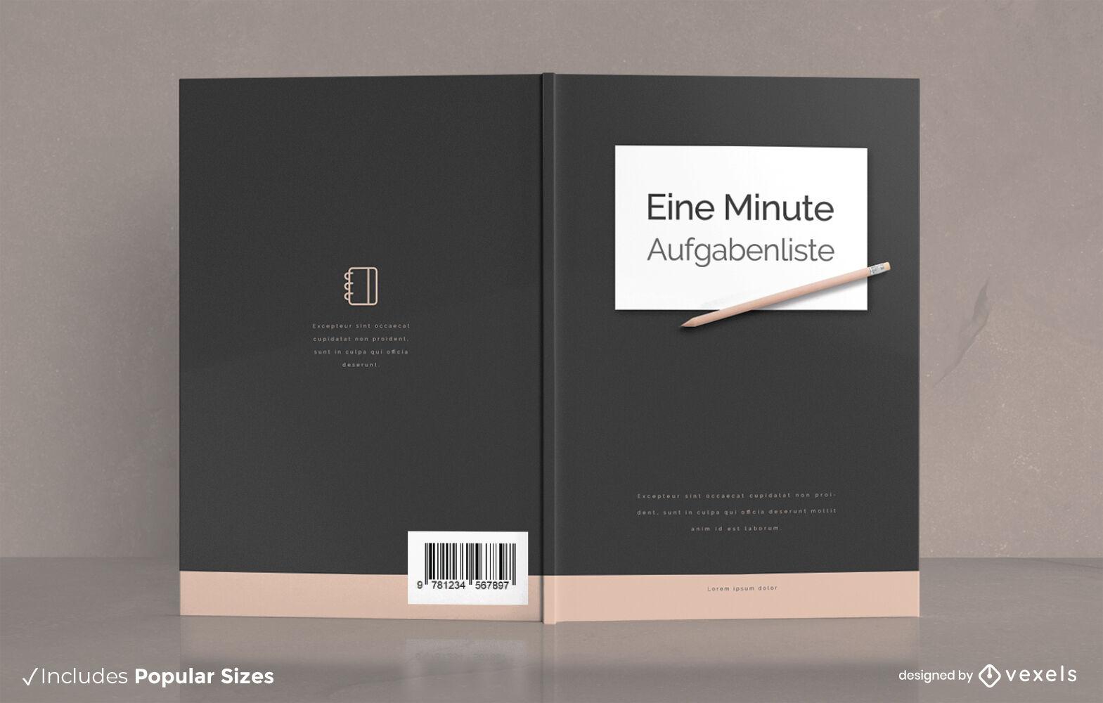 Request written assignments book cover design