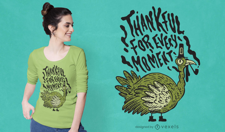 Thanksgiving holiday turkey t-shirt design