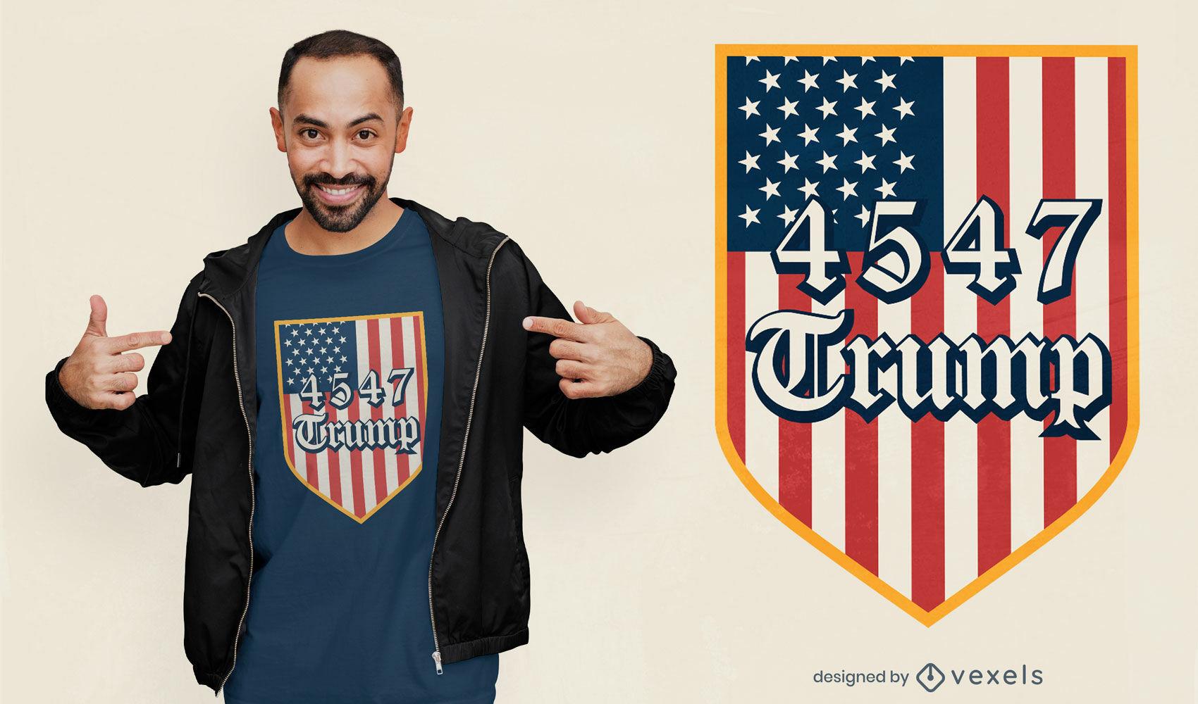4547 trump t-shirt design