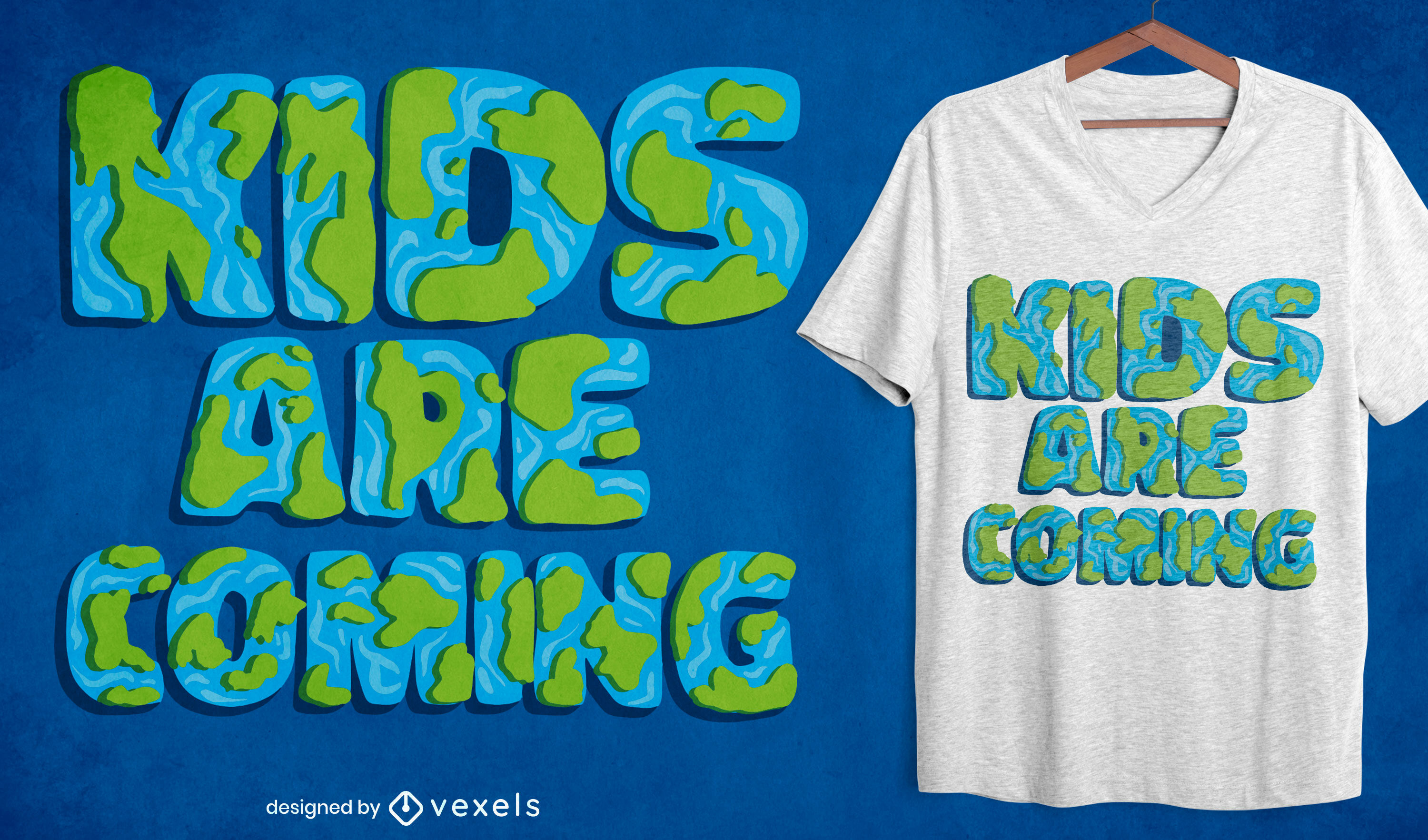Kids are coming t-shirt design