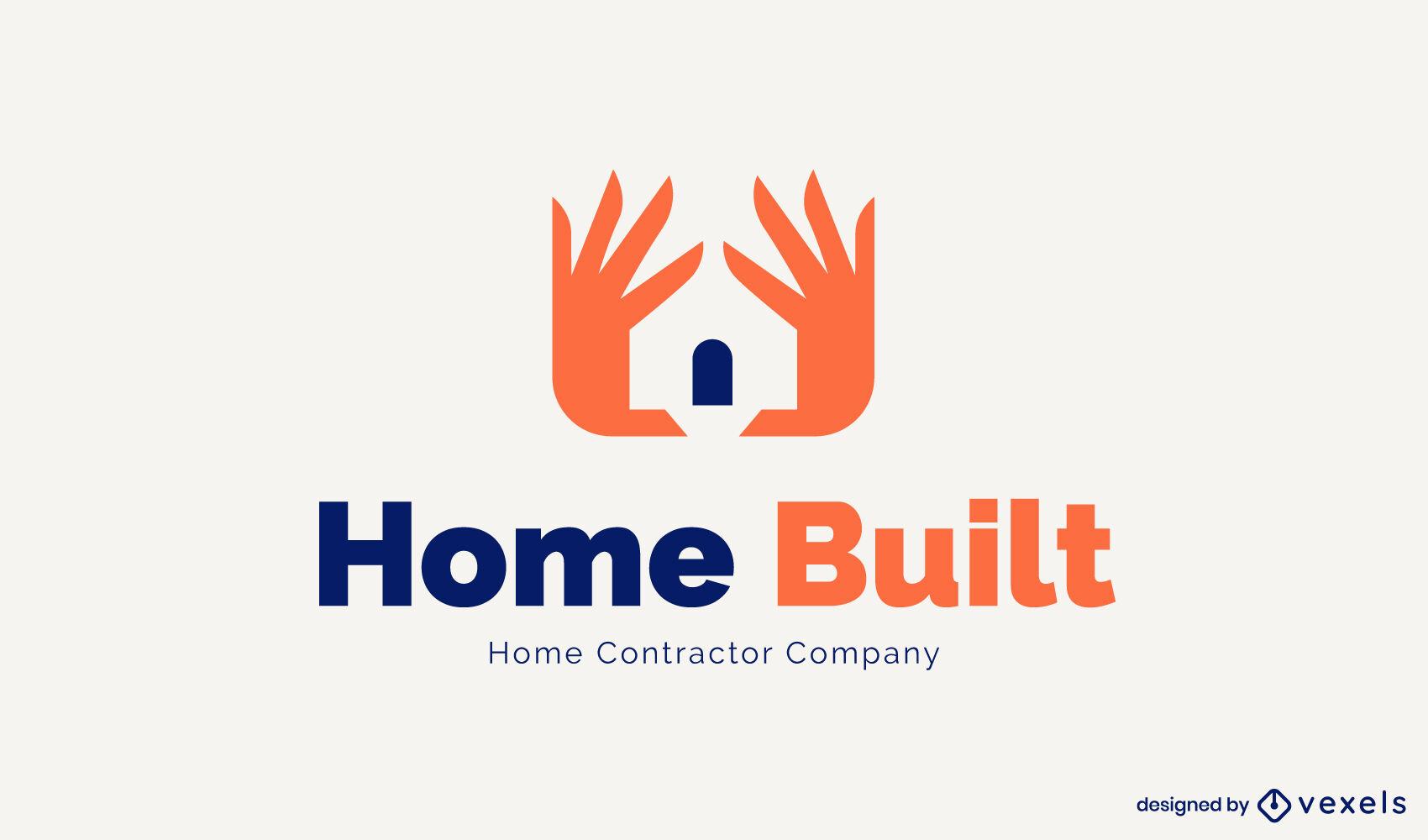 House hands logo template