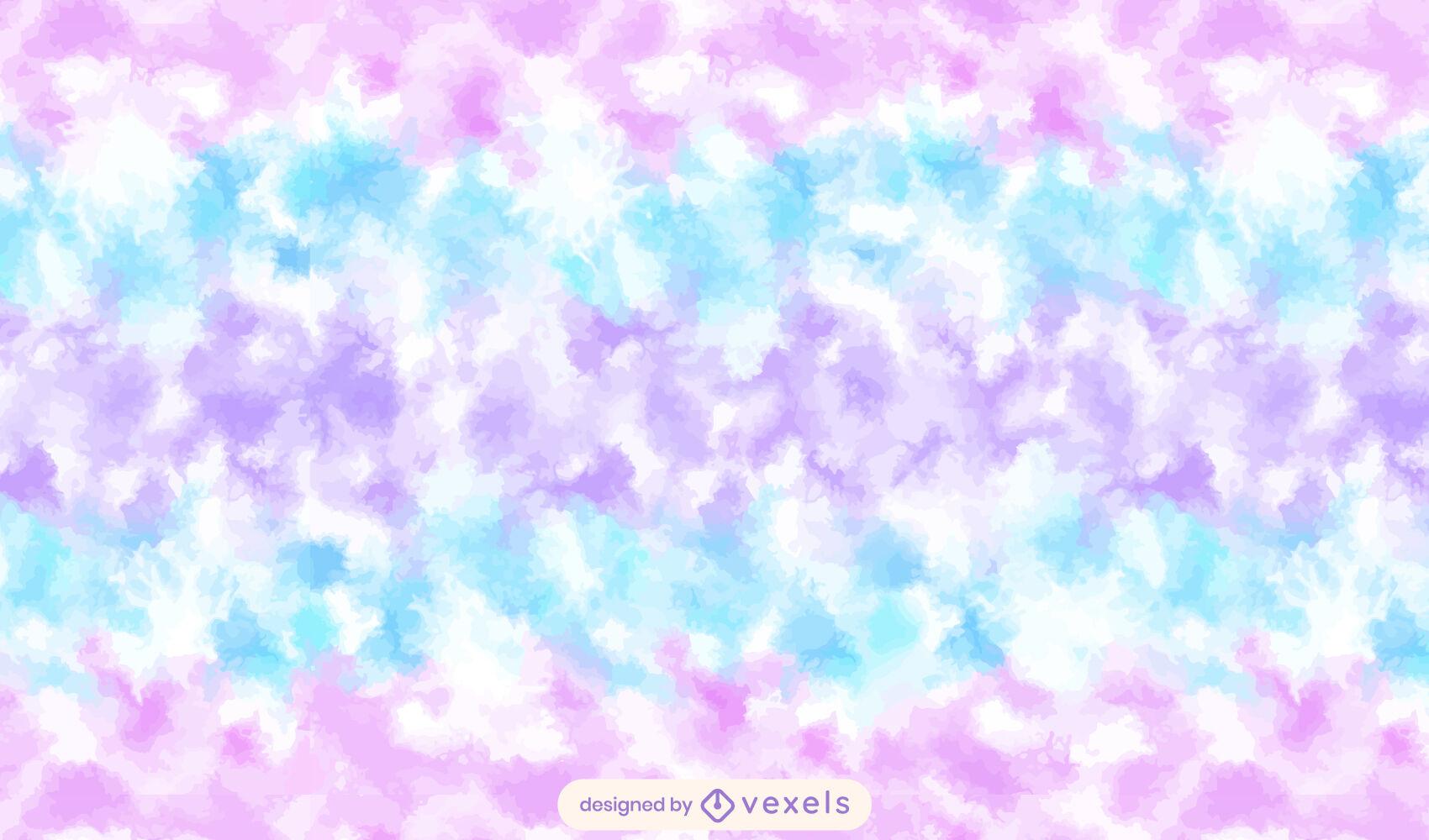 Cotton candy sweet tye dye pattern design