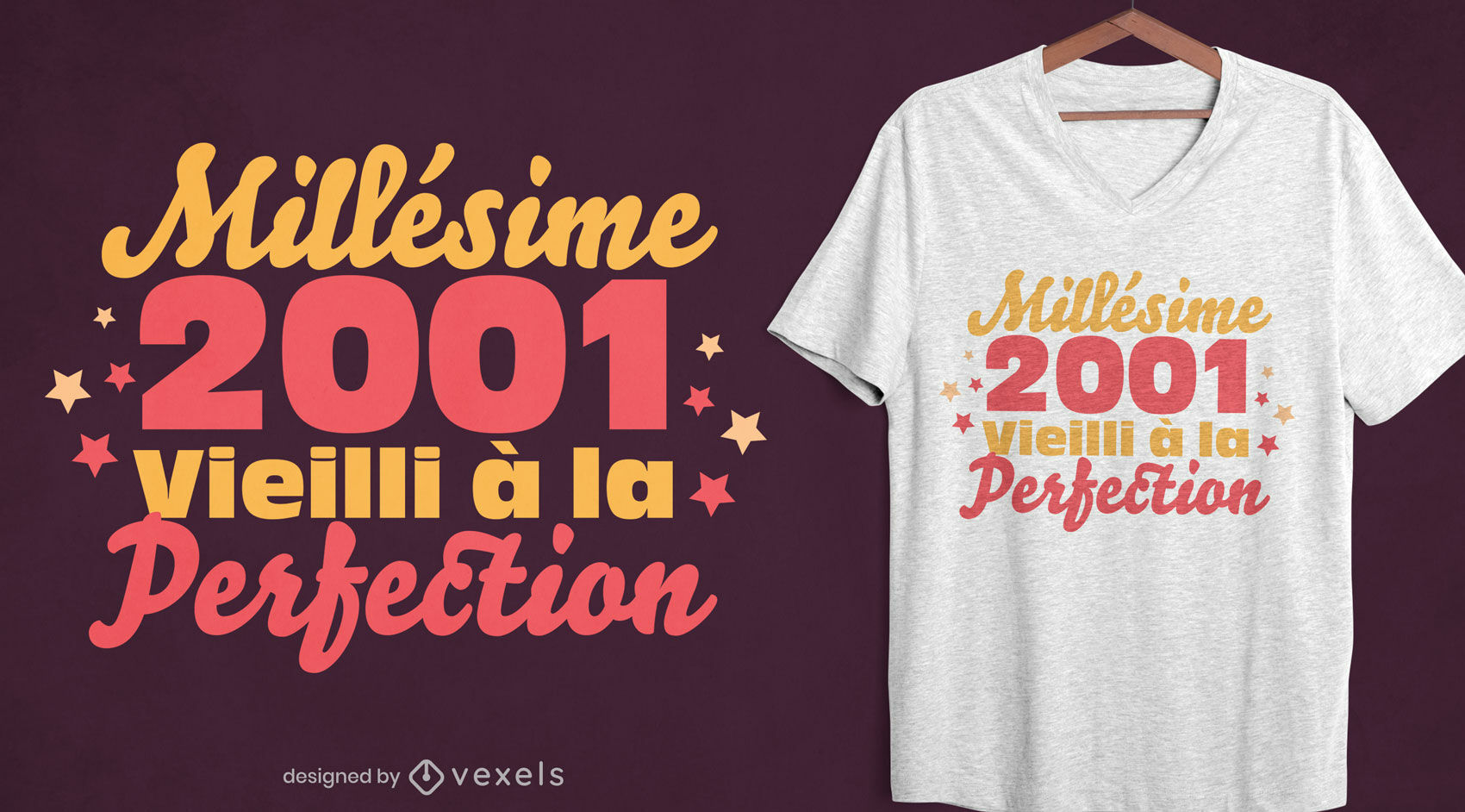 Aged to perfection t-shirt design