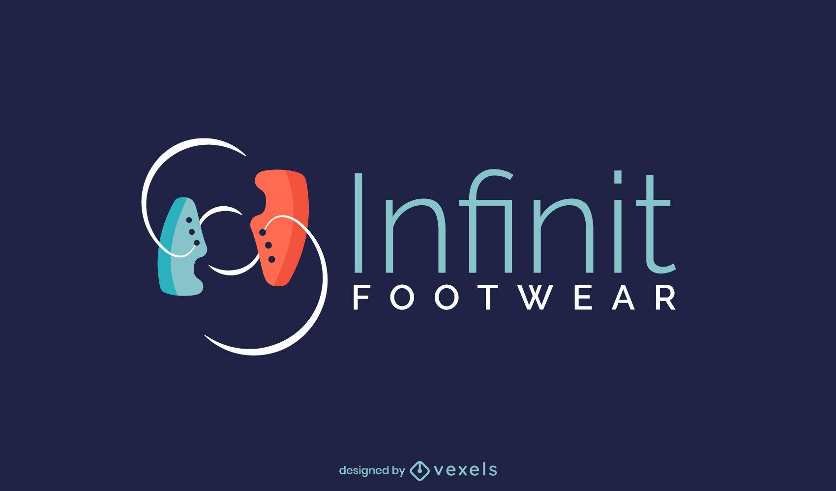 Shoes company logo template