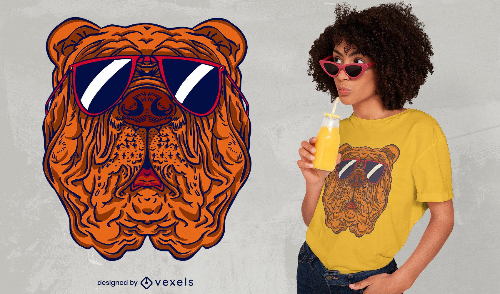 Italian mastiff breed dog t-shirt design