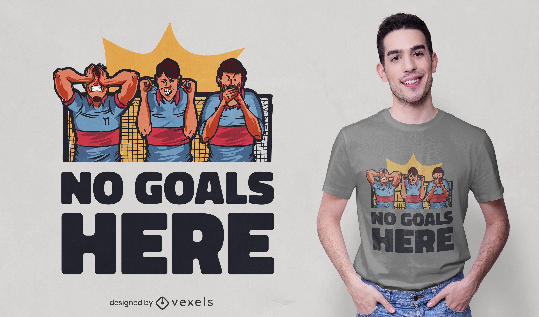 Design de camisetas para jogadores de futebol