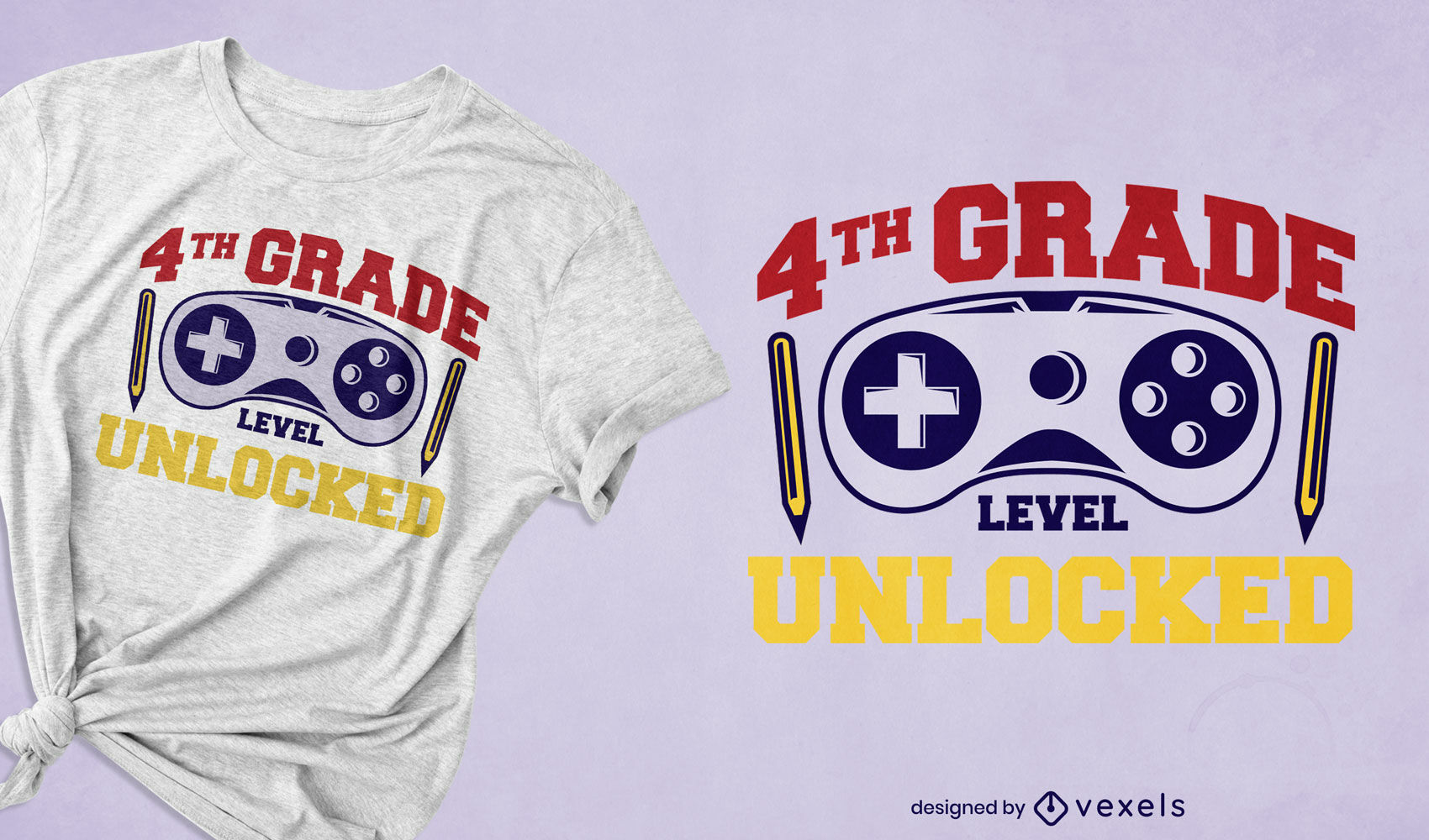 4th grade education t-shirt design