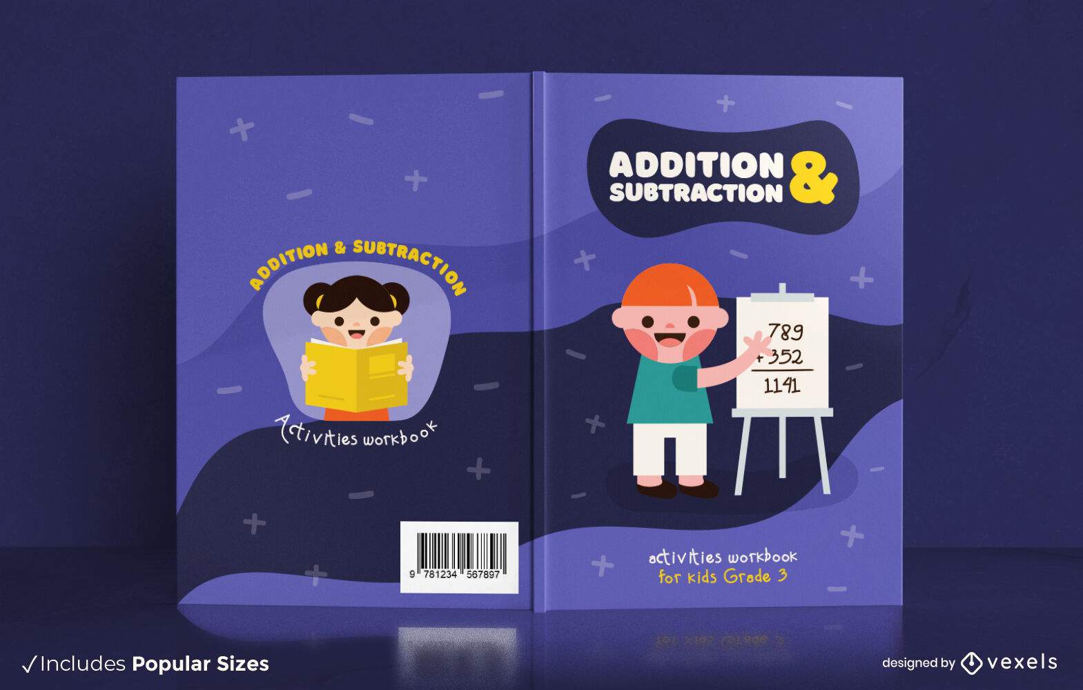 Addition and substraction KDP book cover