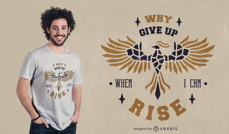 Por que desistir do design de camisetas