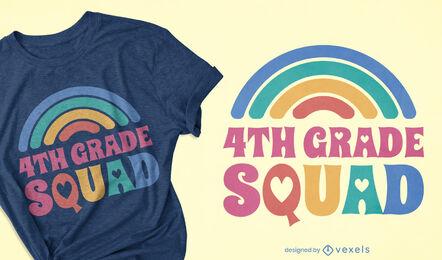 4th grade squad t-shirt design