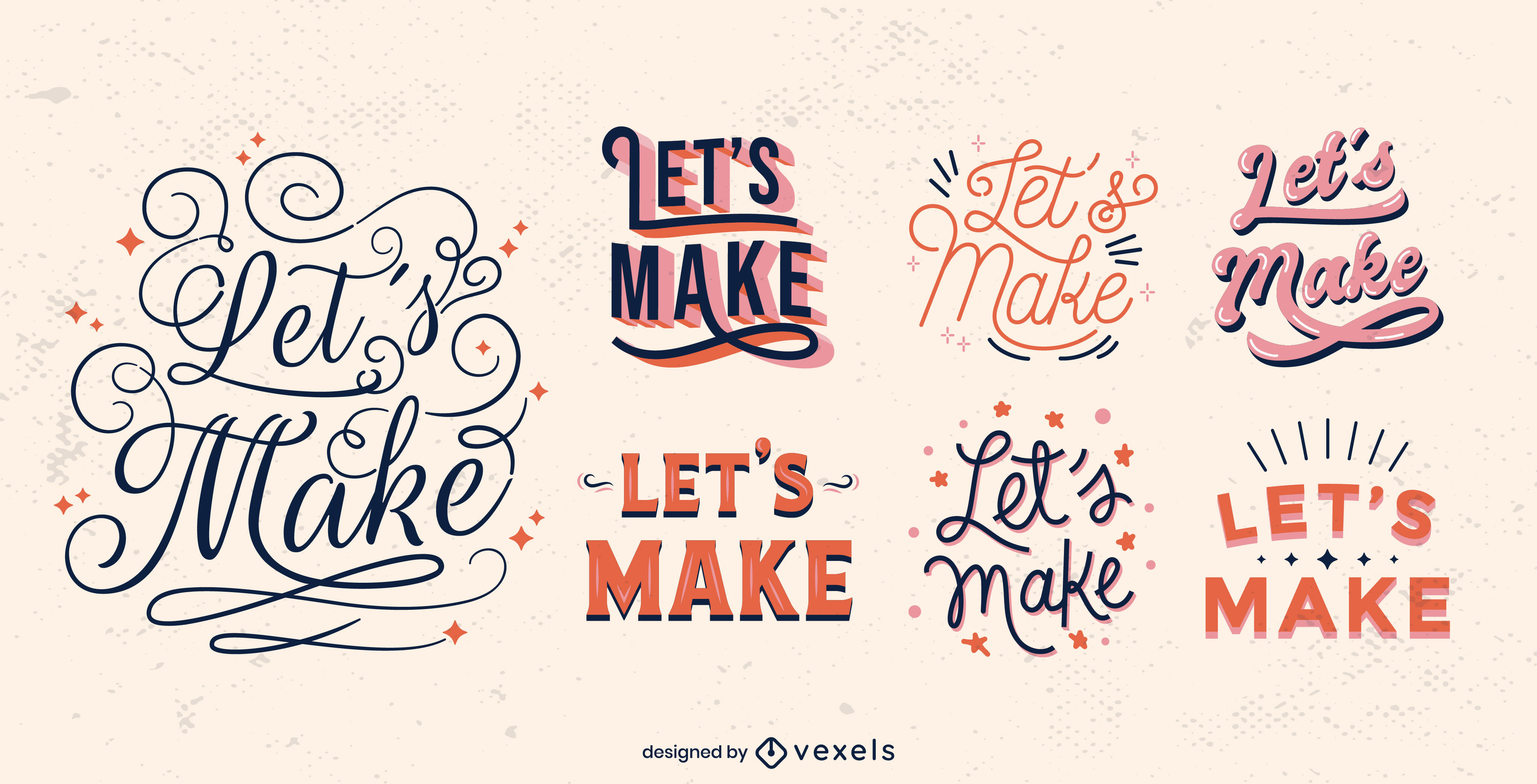 Letras de emblemas de citações motivacionais