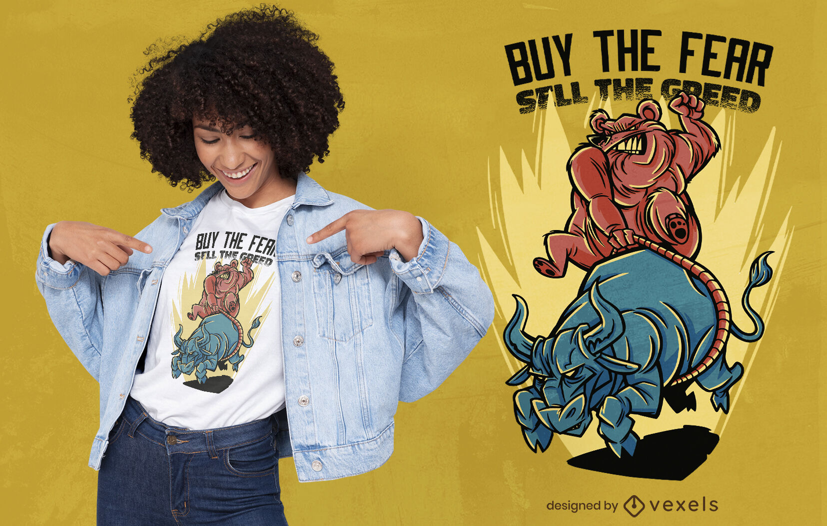 Buy the fear t-shirt design
