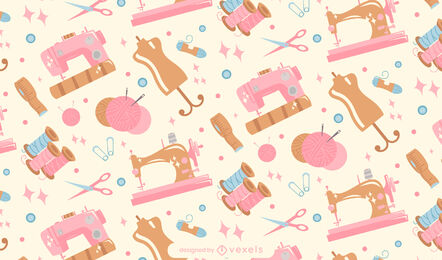 Sewing and embroidery pattern design