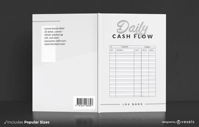 Spreadsheet database book cover design