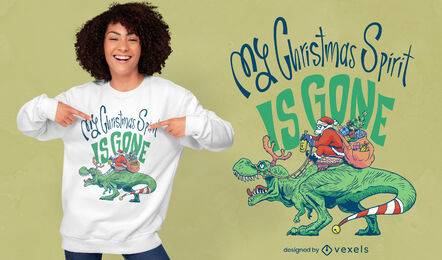 Cool anti-Christmas t-shirt design