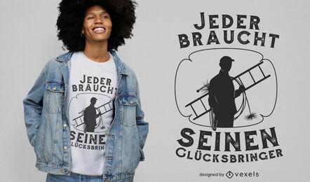 Cool lucky charm t-shirt design