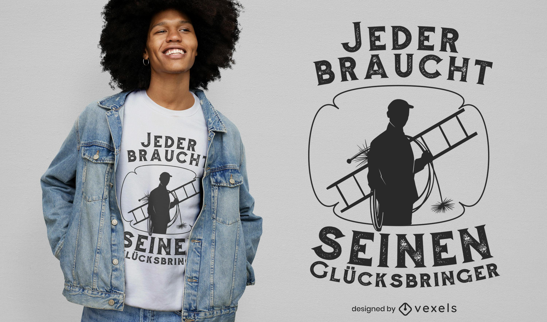Cooles Glücksbringer T-Shirt Design
