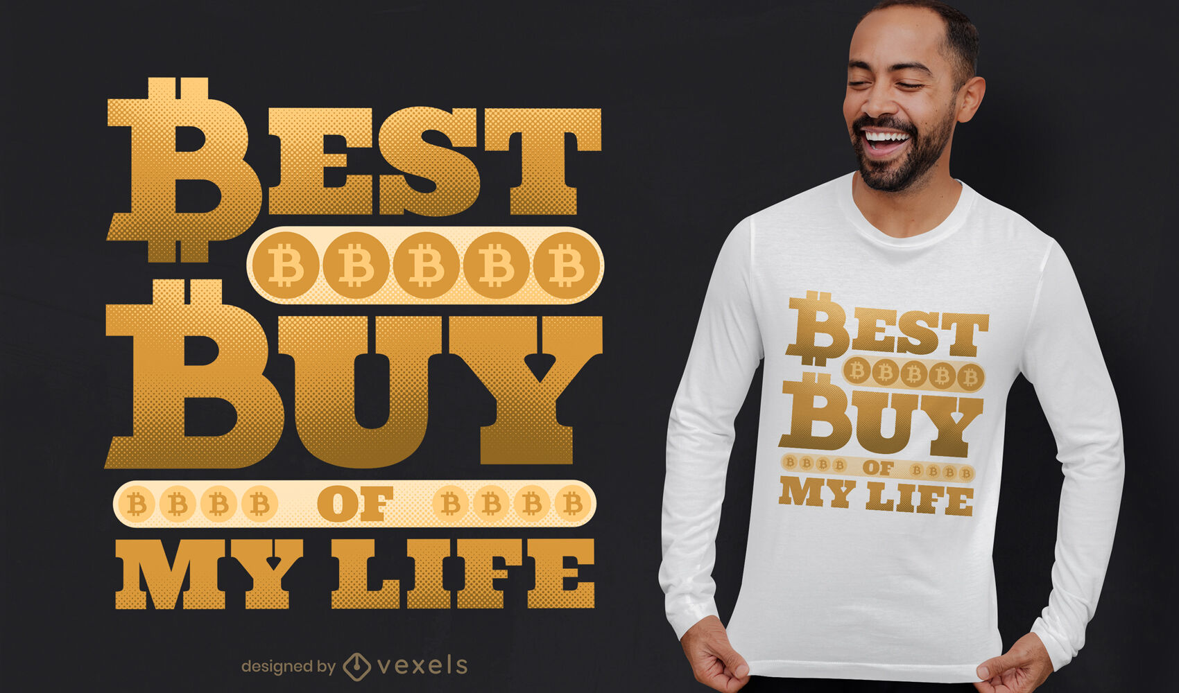 Best buy bitcoin t-shirt design