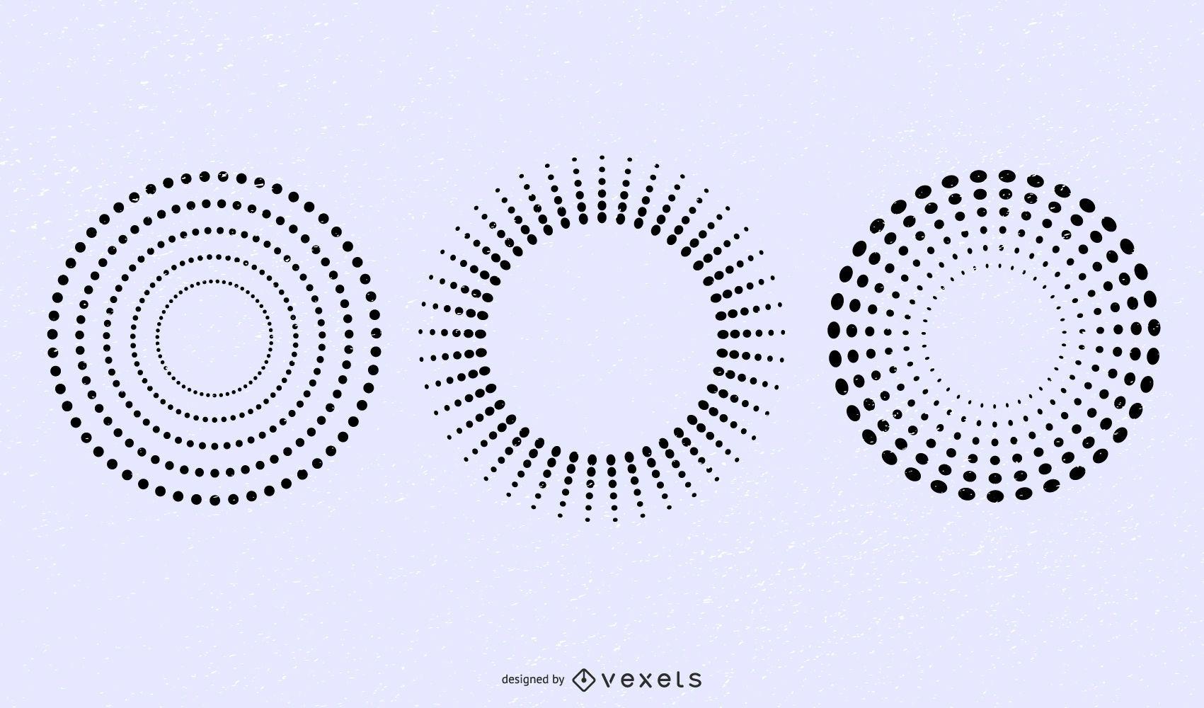 Puntos vectoriales y patrón de semitonos