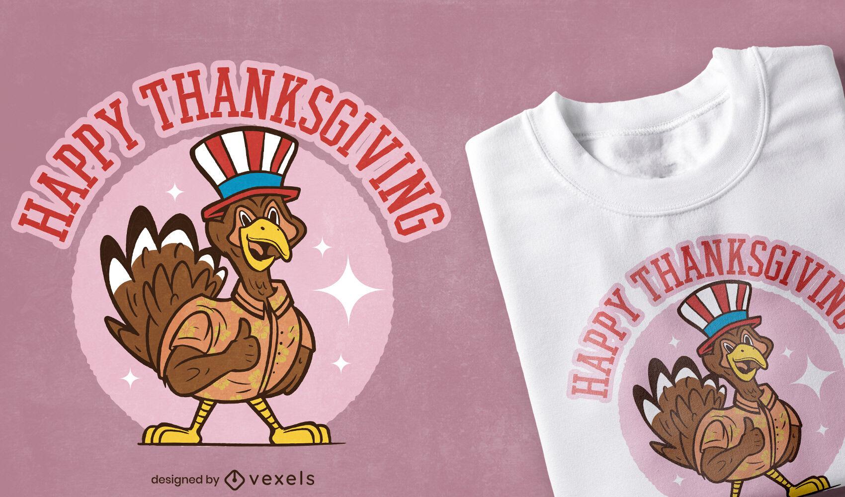 Patriot Thanksgiving t-shirt design