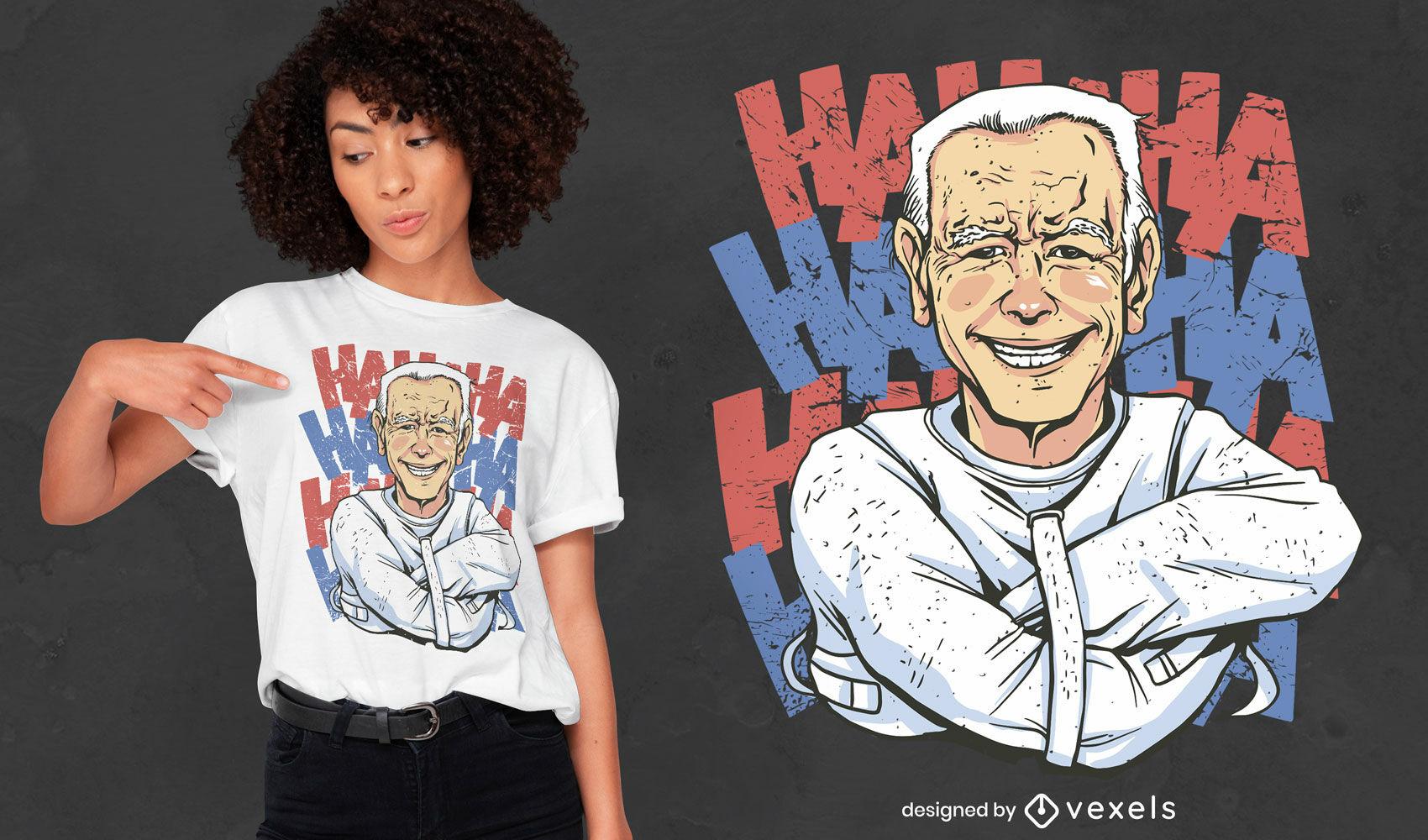 Lustiges Biden-T-Shirt-Design