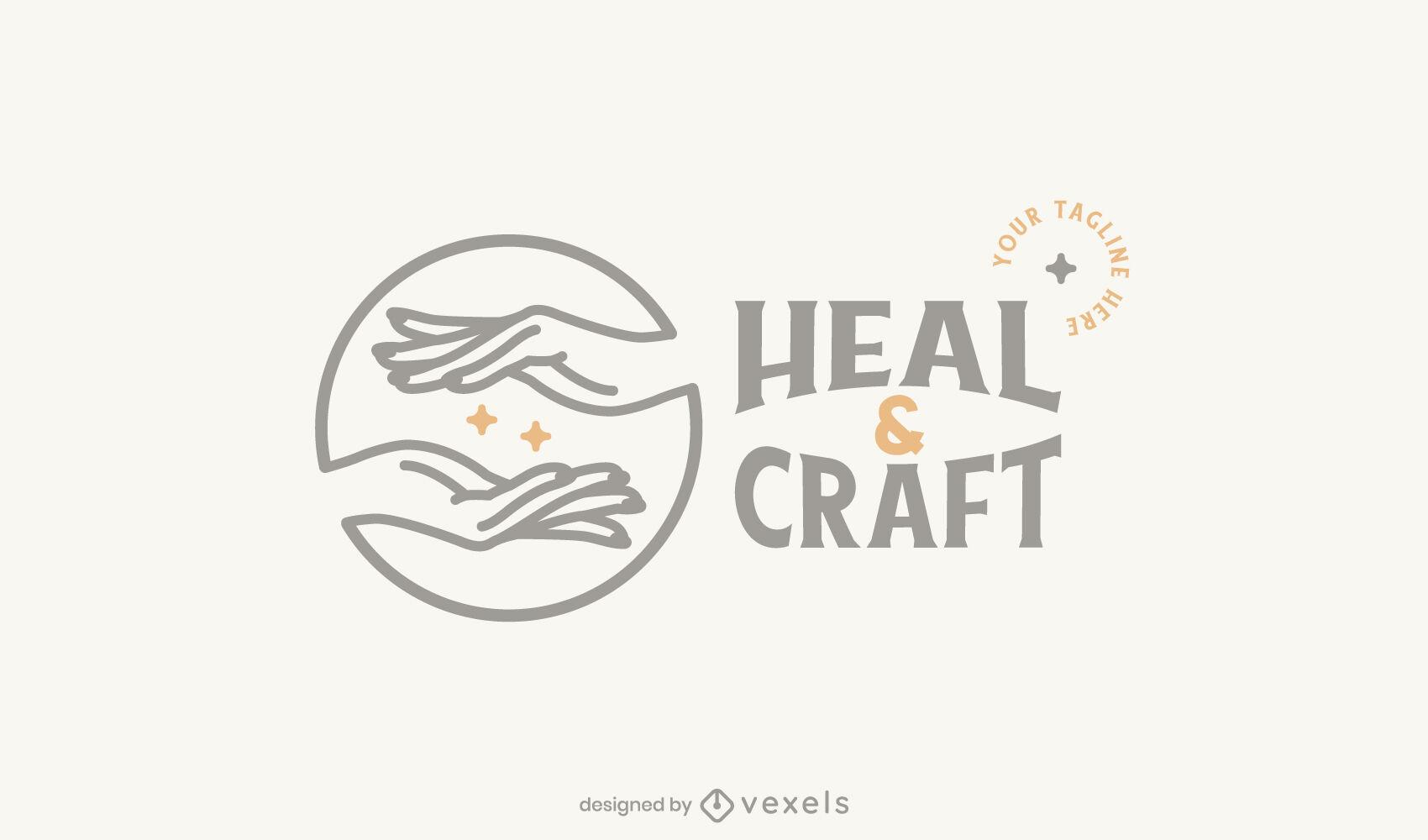 Crafting logo template