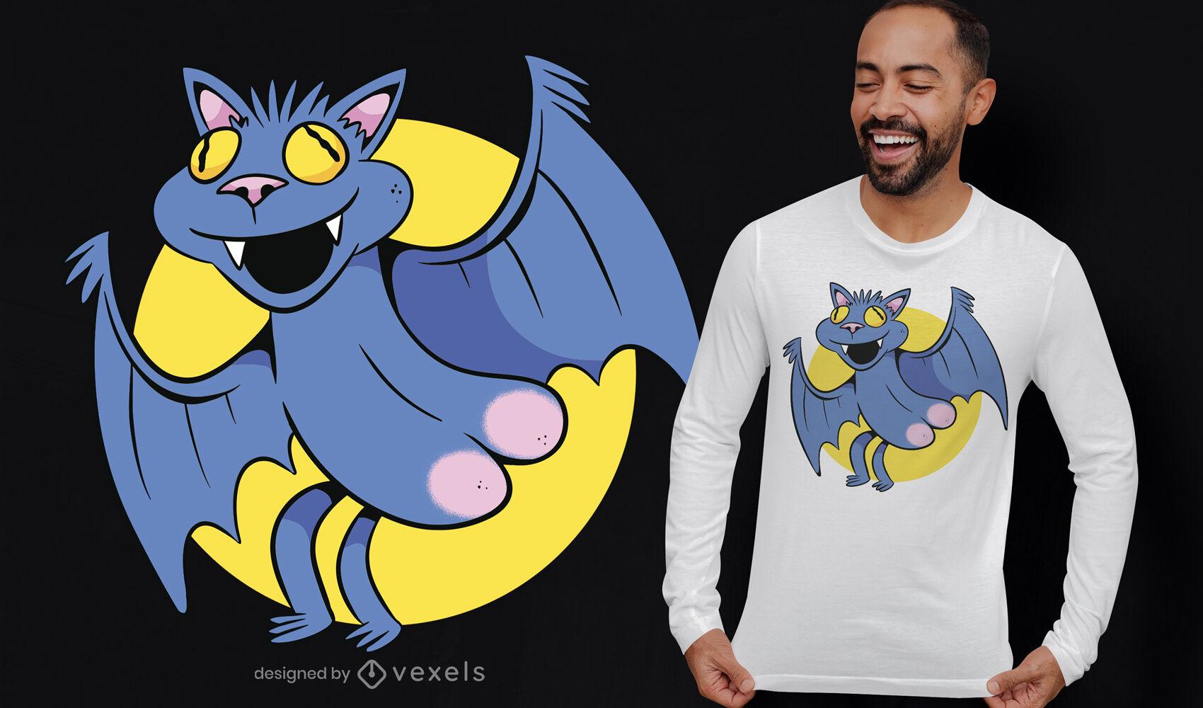 Funny bat butt t-shirt design