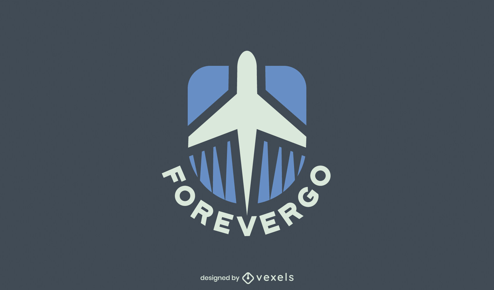 Great plane logo design
