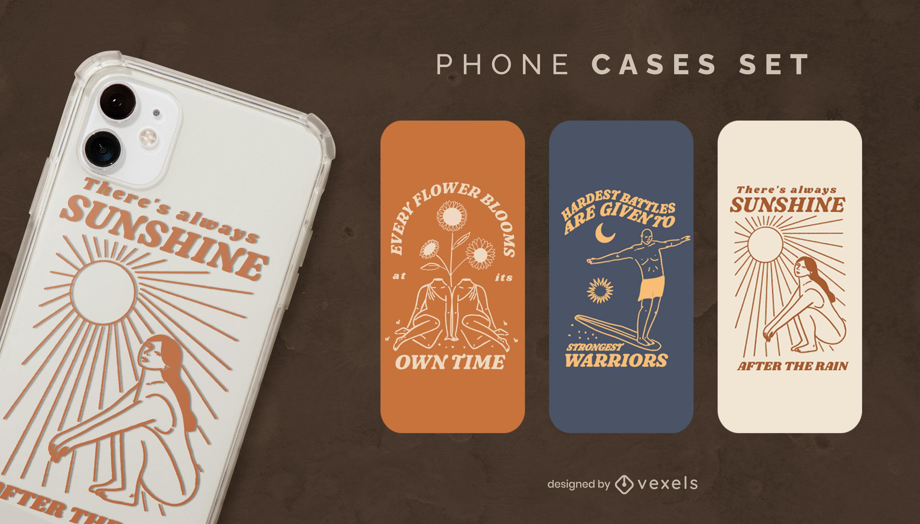 Cooles Design für Neurodiversitäts-Telefonhüllen