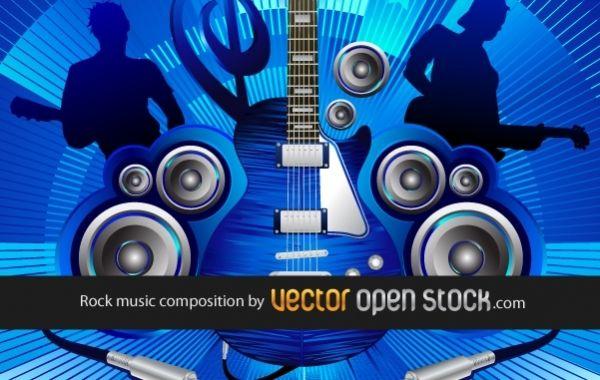 Blue Rock Music Composition