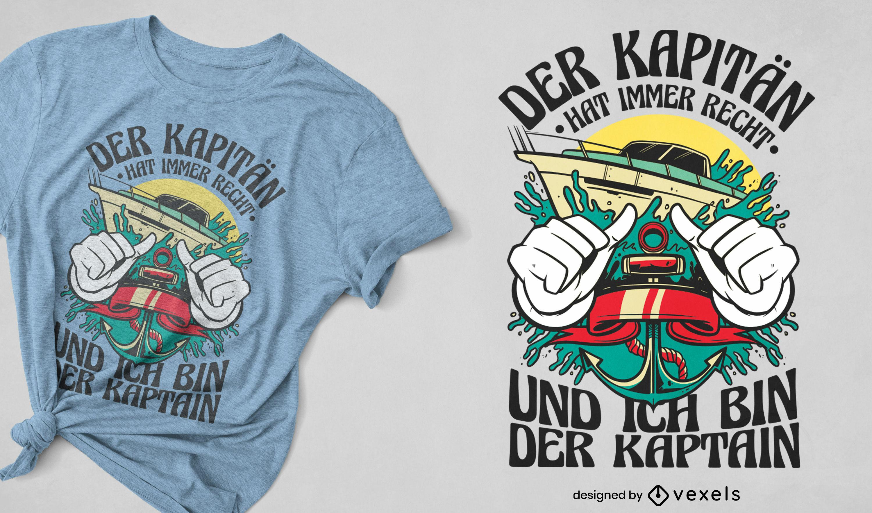 Speedboat ocean transport t-shirt design