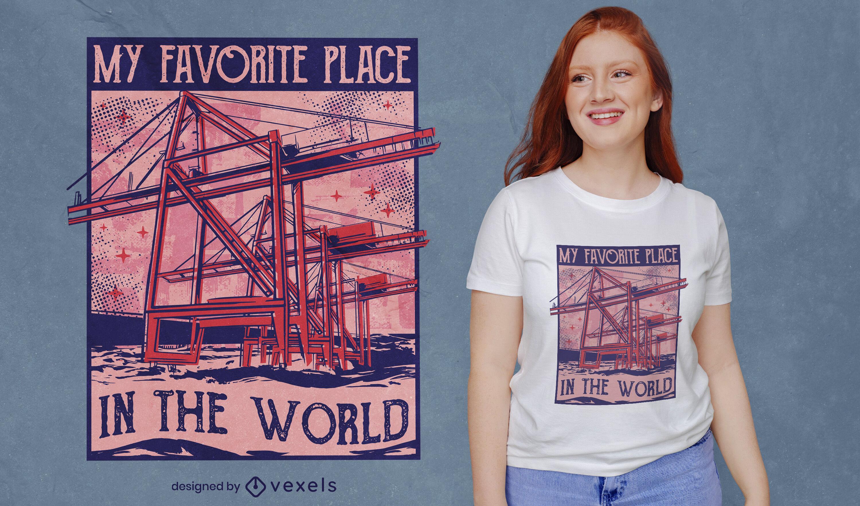 Mi lugar en el dise?o de camisetas del mundo.