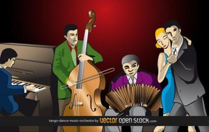 Tango-dance-music-orquestra