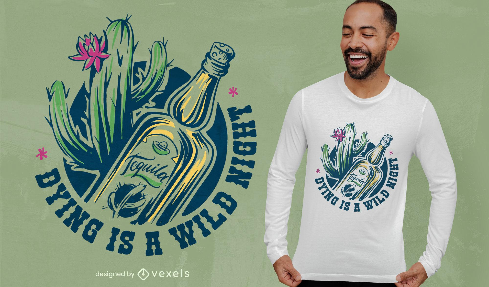 Sterbender Tag der Toten T-Shirt-Design
