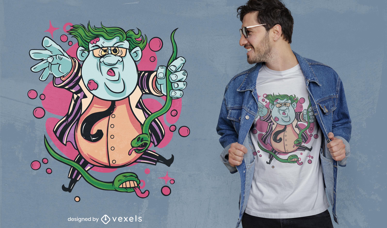 Diseño de camiseta de Halloween Matt Foley