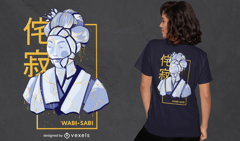 Great wabi sabi t-shirt design