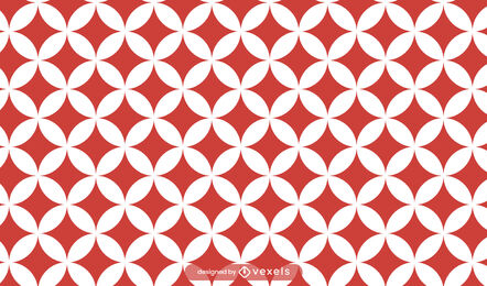 Red shippo japanese traditional pattern design