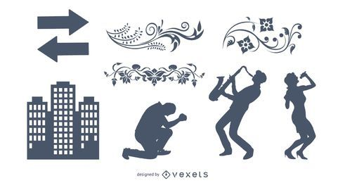 Free Vectors: Set 8 Sampler