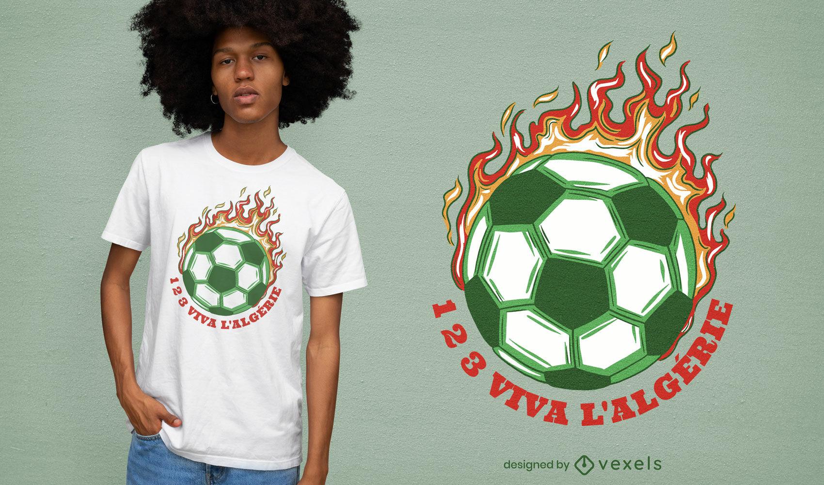 ANFRAGE Fantastisches Fußball-T-Shirt-Design