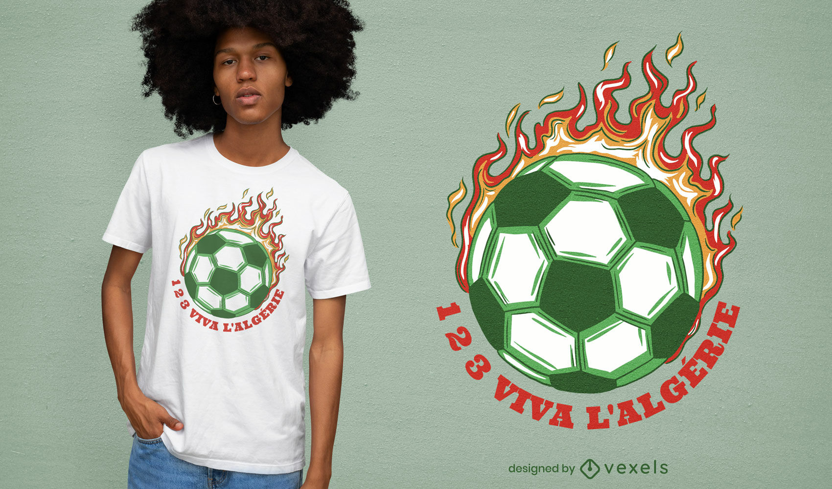 REQUEST Awesome soccer t-shirt design