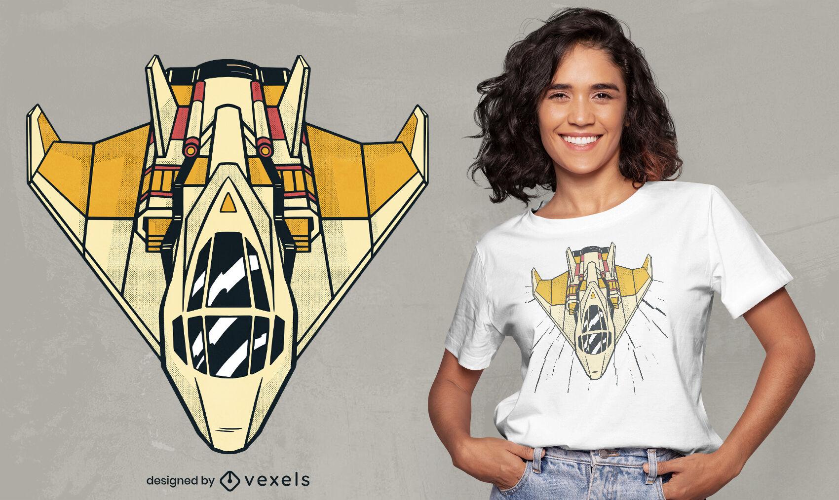 ANFRAGE Cooles Flugzeug T-Shirt Design