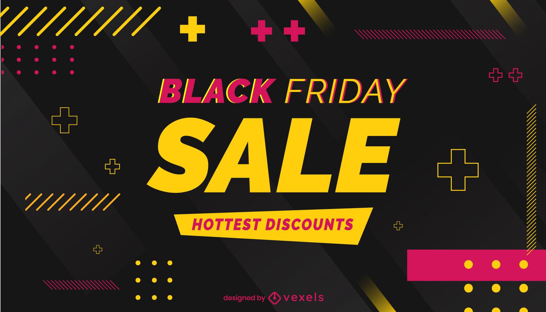 Black friday sale promotion slider design