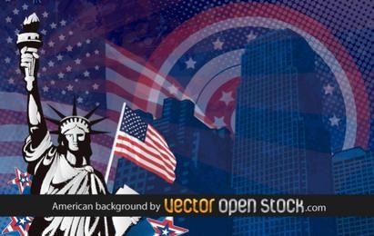Fondo de Estados Unidos americano