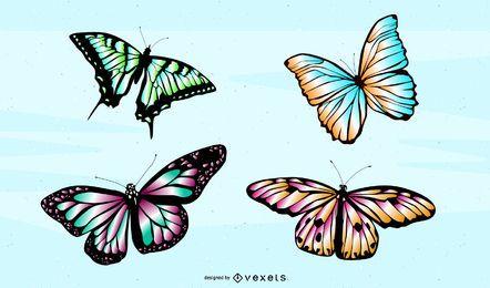 Vektor Schmetterling