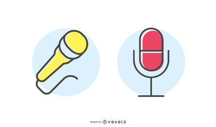 Icono de micrófono