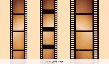 Negativos de filmes nostálgicos