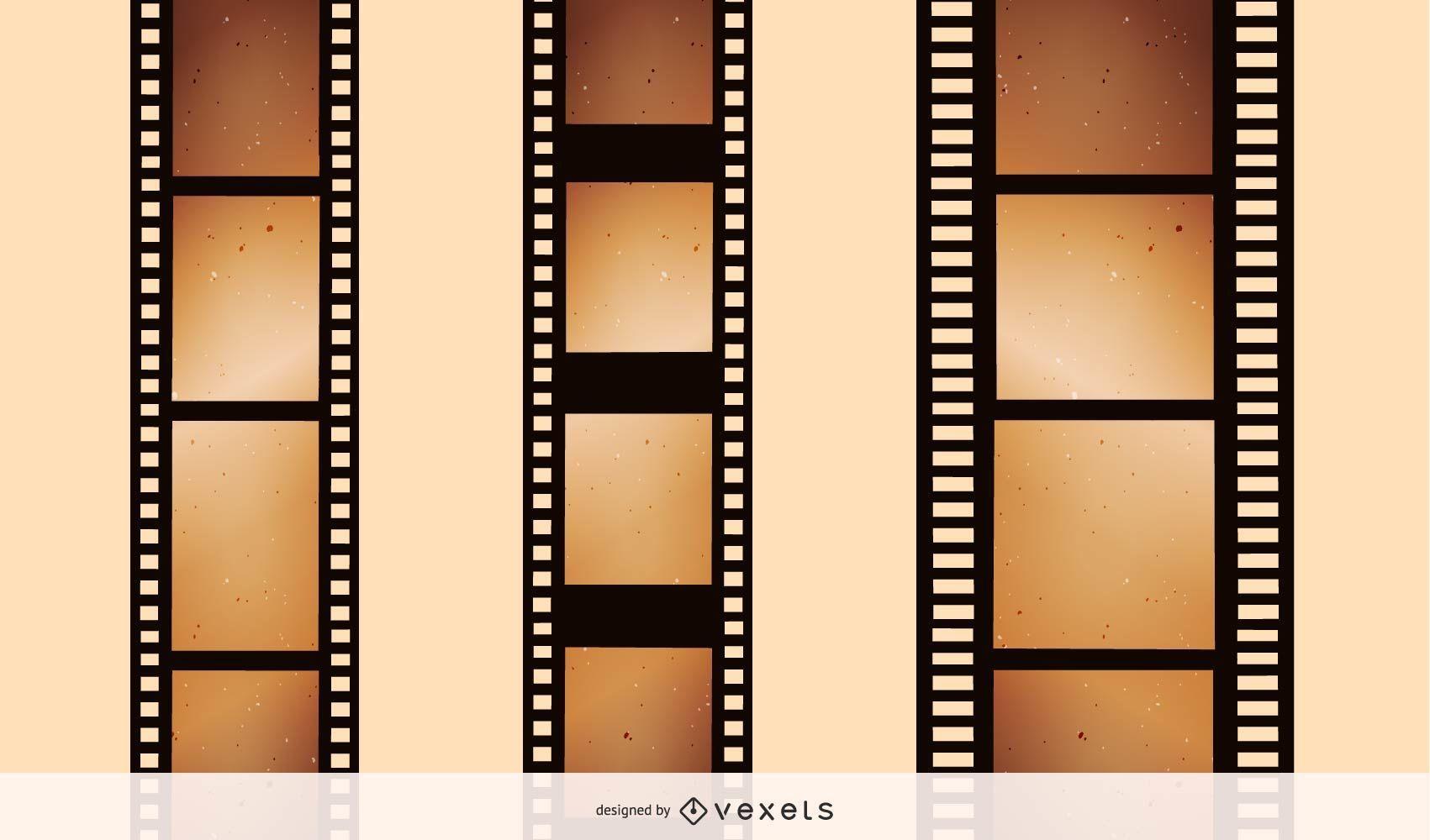 Nostalgic film negatives