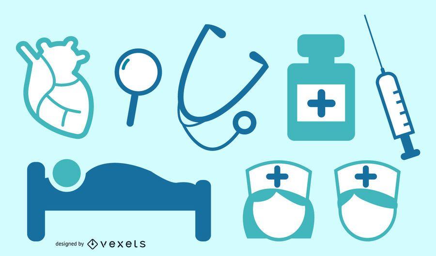 Conjunto de vectores de salud