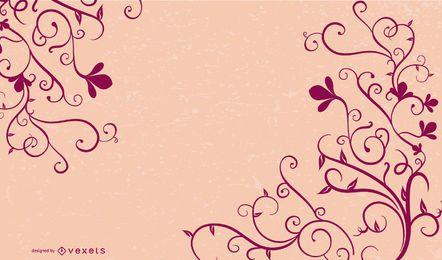 Swirl Flower Vector 3