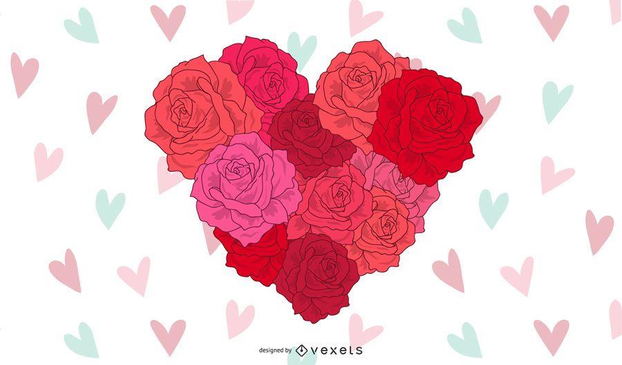 Corazón para el dia de san valentin